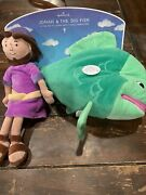 New Hallmark Jonah And The Big Fish Stuffed Animals Whale Swallows Collectible