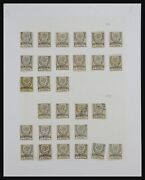 Lot 33021 Stamp Collection Turkey 1865-1890.