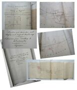 1837 Wolverhampton Railway Dudley Extension Map Plan And Document Staffordshire