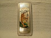 Korea Silver Bar, 30g, .999 Pure, Year Of The Tiger Colorized Enameled