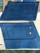 Austin Healey 3000 Bj8 Blue Door Panels Console And Rear Panels
