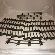 Lot Of 15 Pieces Of Vintage American Flyer S Gauge Curve And Straight Track
