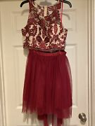 2 Piece Homecoming Dress My Michelle Prom Wedding Cute