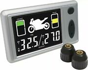 Accutire Ms-4362 Motorcycle Tire Pressure Monitor System, Free Usps Ship Tpms