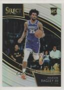2018-19 Panini Select Courtside Silver Prizm Marvin Bagley Iii 219 Rookie