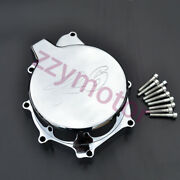 Chromed Stator Engine Cover Fit For Yamaha Yzf-r6 1999 2000 2001 2002 99 01 New