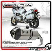 Mivv Speed Edge Inox Exhaust System Homologated For Moto Guzzi Norge 1200 0608