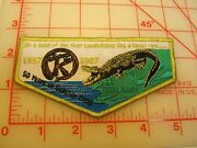 1957 - 2007 Tanah Keeta 50 Years Of Summer Camp Flap Collectible Patch Y7