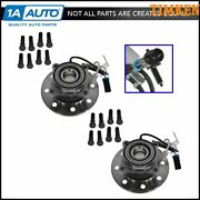Timken Front Wheel Hubs And Bearings Pair Set For Chevy Gmc Pickup Truck 4wd 4x4