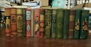 Lot Of 20 Rare G. A. Henty Books - C. 1890-1900 - Vintage Hardcover Collectible