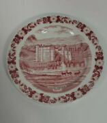Leeds Castle Kent Red Old English Staffordshire Ware Maidstone