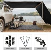 Shatex Rv Awning Shade Blackout With 90 Privacy Screen Free Kit 8ftx14ft