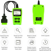 2.4 Lcd Screen Obd Ii Code Reader Diagnostic Scanner For 1996 And Newer Vehic