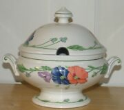 New Villeroy And Boch Amapola 1748 Covered Vegetable Tureen 2 Qt.bowl Display Only