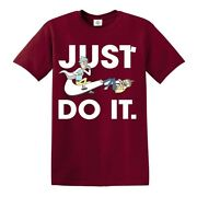Rick And Morty Just Do It T-shirt Spoof American Anime/funny Mens Ladies Top