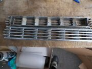 Boat Marine Louvered Air Vents Chrome Plated - Used