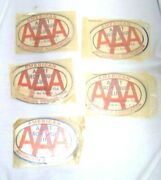5 Vintage Aaa Triple A Sewing Kits West Germany American Automobile Association