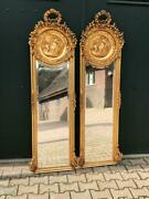 Mirror In French Louis Xvi Style- Free Worldwide Shipping 2p