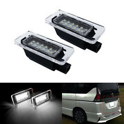 2x For Nissan Serena C27 Mpv 2016-2018 Canbus Smd Led License Plate Light Lamps