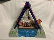 ✅lionel Operating Pirate Ship Ride Accessory 6-14171 Animated Carnival O Gauge