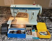 Singer Fashion Mate 257 Sewing Machine Foot Pedal Accessories Tested Used