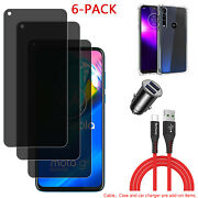 For Motorola Moto G 9 8 7 Power Privacy Anti-spy Tempered Glass Screen Protector