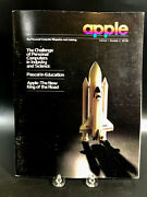Vintage Apple Magazine And Price Catalog Vol 1 No 3 Personal Computer Challenges