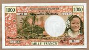 New Hebrides - 1000 Francs - Nd1979 - P20c - About Uncirculated