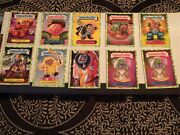 Garbage Pail Kids Various Series Cards Pick From List All Green Puke Border