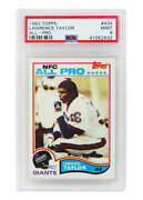 Lawrence Taylor New York Giants 1982 Topps 434 Rc Rookie Card -psa 9 Mint A