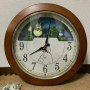 My Neighbor Totoro Mechanism Clock Discontinued Rare Products