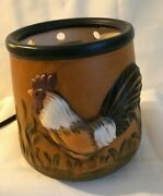 Scentsyterra Cotta Roosterfarmhouse Full Size Electric Warmerreplacement