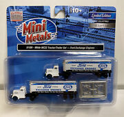 Mini Metals N Scale Ford Exchange Engines Wc 22 Tractor / Trailer Set 51189