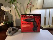 """Vintage Sears Craftsman Cordless 3/8"""" Drill 6.0 Volt +battery+charger Sealed New"""