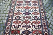 Terrific Antique Caucasian Rug 4and0393 X 5and0396 Ft Awesome Caucasian Natural Color Rug