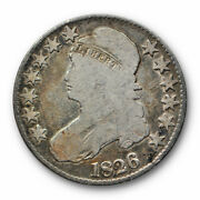 1826 Capped Bust Half Dollar Good G Circulated Common Date