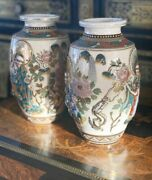 Antique Pair Of Japanese Vases Private Collection