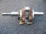 Briggs And Stratton 18.5 Hp  Crank Shaft And Counterweight 595339