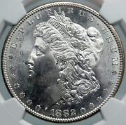 1882 United States Of America Silver Morgan Us Dollar Coin Eagle Ngc Ms I87821