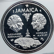 1972 Jamaica 10th Independence Anniversary Silver 10 Dollars Coin Ngc I87817