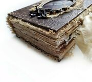 Vintage Junk Journal A6 Blank Journal Victorian Thick Diary