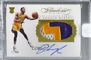 2015-16 Panini Flawless /25 Dand039angelo Russell Pa-dr Rpa Rookie Patch Auto