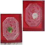 Waterford Crystal Ornament 1992 Lady Dancing Made In Ireland Vintage Home Dandeacutecor