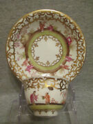 Meissen / Dresden Porcelain Chinoiserie Tea Bowl And Saucer. No 2