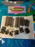 Atlas 47 Ho Scale Brass Track Assortment / Plus Extra With Rail Joiners Wheels