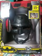 Batman Voice Changing Mask With Over 15 Phrases For Kids Aged 4+ New In Box