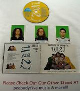 Sultans Of Ping F.c. - U Talk 2 Much Cd - Collectors Pack 3 Cards - Free Ship