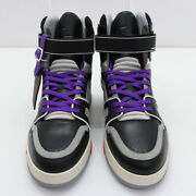 Pre-owned Authentic Louis Vuitton Menand039s Sneakers Gray / Black / Red Jp 26cm
