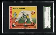 1933 Goudey Big League Chewing Gum R319 Rogers Hornsby 119 Sgc 60 Hof