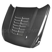 For Ford Mustang 15-17 Type-gt5 Style Gloss Carbon Fiber Hood